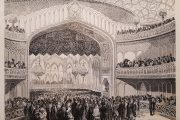 1851 წლის 12 აპრილს თბილისის ოპერის თეატრის გახსნაზე...
