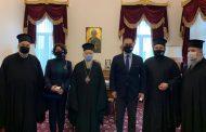 Patrikhanenin misafirliğinde Gürcüce დედა ენა kursları