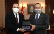 Ankara'da Mevlüt Çavuşoğlu ile Giorgi Janjgava Görüştü