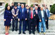 GÜRCİSTAN'DA YAPILAN ULUSLARARASI SAĞLIK KONGRESİNE TÜRKİYE'DEN 3 DOKTOR KATILDI