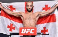 Gürcü boksör Giga Çikadze Brezilyalı rakibi Edson Barboza'yı nakavt etti.