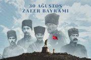 30 Ağustos Zafer Bayramı'nın 99. yıl dönümü kutlamaları